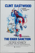 "Movie Posters:Action, The Eiger Sanction (Universal, 1975). One Sheet (27"" X 41"") FlatFolded. Action.. ..."