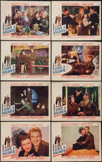 "I Love a Soldier (Paramount, 1944). Lobby Card Set of 8 (11"" X 14""). Drama. ... (Total: 8 Items)"