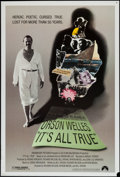 "Movie Posters:Documentary, It's All True (Paramount, 1993). One Sheet (27"" X 40""). Documentary.. ..."