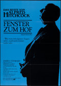 """Movie Posters:Hitchcock, Rear Window & Other Lot (Universal, R-1983). German A1s (3)(23.5"""" X 33""""). Hitchcock.. ... (Total: 3 Items)"""