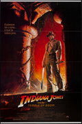 "Movie Posters:Adventure, Indiana Jones and the Temple of Doom (Paramount, 1984). One Sheet(27"" X 41"") Flat Folded. Adventure.. ..."