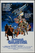 "Movie Posters:Science Fiction, Battlestar Galactica (Universal, 1978). One Sheet (27"" X 41"") Style D. Science Fiction.. ..."