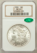 Morgan Dollars: , 1888 $1 MS65 NGC. CAC. NGC Census: (5640/1023). PCGS Population(3275/669). Mintage: 19,183,832. Numismedia Wsl. Price for ...