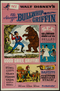 """The Adventures of Bullwhip Griffin (Buena Vista, 1967). One Sheet (27"""" X 41"""") Style B. Adventure. Directed by..."""