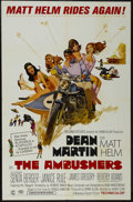 "Movie Posters:Action, The Ambushers (Columbia, 1967). One Sheet (27"" X 41""). ComedyThriller. Starring Dean Martin, Senta Berger, Janice Rule, Jam..."
