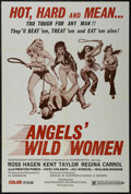 """Movie Posters:Action, Angels' Wild Women (Independent-International, 1972). One Sheet (27"""" X 41""""). Action. Starring Kent Taylor, Vicki Volante, Ro..."""