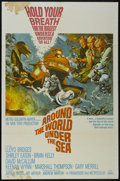 "Movie Posters:Adventure, Around the World Under the Sea (MGM, 1966). One Sheet (27"" X 41"").Action Adventure. Starring Lloyd Bridges, Shirley Eaton, ..."