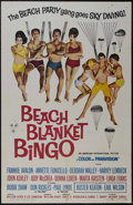 """Movie Posters:Comedy, Beach Blanket Bingo (AIP, 1965). One Sheet (27"""" X 41""""). Comedy. Starring Frankie Avalon, Annette Funicello, Deborah Walley, ..."""