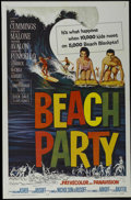 """Movie Posters:Comedy, Beach Party (American International, 1963). One Sheet (27"""" X 41""""). Comedy. Starring Robert Cummings, Dorothy Malone, Frankie..."""