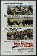 """Movie Posters:Drama, Bless the Beasts & Children (Columbia, 1971). One Sheet (27"""" X 41""""). Drama. Starring Bill Mumy, Barry Robins, Miles Chapin, ..."""