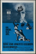 """Movie Posters:Western, Blue (Paramount, 1968). One Sheet (27"""" X 41""""). Western. Starring Terence Stamp, Joanna Pettet, Karl Malden and Ricardo Monta..."""
