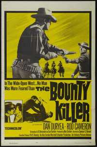 """The Bounty Killer (Embassy Pictures, 1965). One Sheet (27"""" X 41""""). Western. Directed by Spencer Gordon Bennet..."""