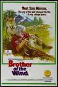 "Movie Posters:Adventure, Brother of the Wind (Sun International, 1973). One Sheet (27"" X41""). Adventure. Starring Dick Robinson and the voice of Leo..."