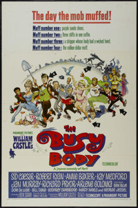 """The Busy Body (Paramount, 1967). One Sheet (27"""" X 41""""). Comedy. Directed by William Castle. Starring Sid Caesa..."""