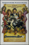 """Movie Posters:Action, Cannonball Run II (Warner Brothers, 1984). One Sheet (27"""" X 41""""). Action Comedy. Starring Burt Reynolds, Dom DeLuise, Dean M..."""