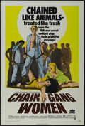"Movie Posters:Bad Girl, Chain Gang Women (Crown-International, 1971). One Sheet (27"" X41""). Crime. Directed by Lee Frost. Starring Michael Sterns, ..."