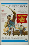 "Movie Posters:Adventure, A Challenge for Robin Hood (20th Century Fox, 1967). One Sheet (27""X 41""). Adventure. Starring Barrie Ingham, James Hayter,..."