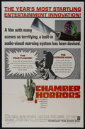 """Movie Posters:Horror, Chamber of Horrors (Warner Brothers, 1966). One Sheet (27"""" X 41""""). Horror. Directed by Hy Averback. Starring Cesare Danova, ..."""