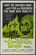 "Movie Posters:Horror, The Conqueror Worm (American International, 1968). One Sheet (27"" X41""). Horror. Starring Vincent Price, Ian Ogilvy, Rupert..."