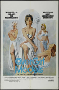 """Cover Girl Models (New World Pictures, 1975). One Sheet (27"""" X 41""""). Action. Starring Rhonda Leigh Hopkins, Jo..."""