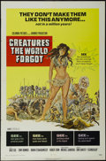 "Movie Posters:Adventure, Creatures the World Forgot (Columbia, 1971). One Sheet (27"" X 41"").Horror. Starring Julie Ege, Tony Bonner, Robert John, Al..."