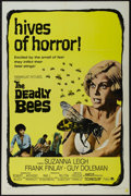 """The Deadly Bees (Paramount, 1967). One Sheet (27"""" X 41""""). Horror. Starring Suzanna Leigh, Guy Doleman, Frank F..."""