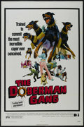 """Movie Posters:Crime, The Doberman Gang (Dimension Films, 1972). One Sheet (27"""" X 41""""). Crime. Directed by David Chudnow. Starring Byron Mabe, Hal..."""