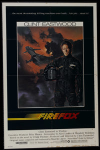 "Firefox (Warner Brothers, 1982). One Sheet (27"" X 41""). Action. Directed by Clint Eastwood. Starring Eastwood..."