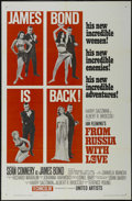 """Movie Posters:Action, From Russia With Love (United Artists, 1963). One Sheet (27"""" X 41""""). Action. Starring Sean Connery, Desmond Llewelyn, Bernar..."""