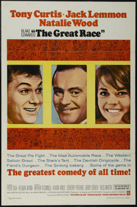 """The Great Race (Warner Brothers, 1965). One Sheet (27"""" X 41""""). Comedy. Directed by Blake Edwards. Starring Ton..."""