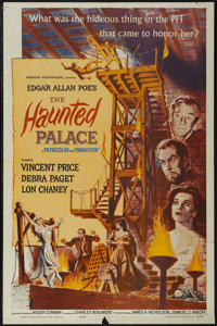 """The Haunted Palace (American International, 1963). One Sheet (27"""" X 41""""). Horror. Starring Vincent Price, Debr..."""