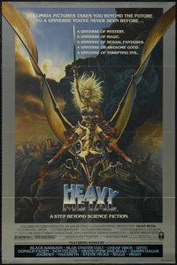 "Heavy Metal (Columbia, 1981). One Sheet (27"" X 41"") Style A. Animated Sci-Fi. Starring the voices of John Cand..."