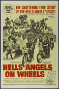 "Movie Posters:Cult Classic, Hell's Angels on Wheels (Fanfare Films, Inc, 1967). One Sheet (27"" X 41""). Action. Starring Adam Roarke, Jack Nicholson, Sab..."