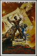 "Movie Posters:Adventure, Hercules (MGM/UA, 1983). One Sheet (27"" X 41""). Fantasy Adventure. Starring Lou Ferrigno, Sybil Danning, Brad Harris, Ingrid..."