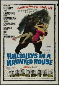 """Hillbillys in a Haunted House (Woolner Brothers, 1967). One Sheet (27"""" X 41""""). Musical Comedy. Starring Ferlin..."""