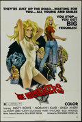 "Movie Posters:Bad Girl, The Hitchhikers (EVI, 1972). One Sheet (27"" X 41""). Bad Girl...."