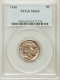 Buffalo Nickels: , 1916 5C MS65 PCGS. PCGS Population (473/179). NGC Census: (304/90).Mintage: 63,498,064. Numismedia Wsl. Price for problem ...