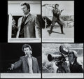 "Movie Posters:Crime, Dirty Harry (Warner Brothers, 1971). Presskit (Multiple Pages) (9""X 12"") and Photos (4) (8"" X 10""). Crime.. ... (Total: 5 Items)"