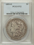 Morgan Dollars: , 1895-O $1 Fine 12 PCGS. PCGS Population (173/4398). NGC Census:(104/3904). Mintage: 450,000. Numismedia Wsl. Price for pro...