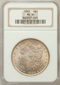 Morgan Dollars: , 1882 $1 MS64 NGC. NGC Census: (6273/1407). PCGS Population(4838/1450). Mintage: 11,101,100. Numismedia Wsl. Price for prob...