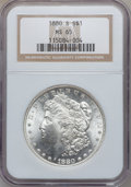 Morgan Dollars: , 1880-S $1 MS65 NGC. NGC Census: (31571/14353). PCGS Population(32652/11549). Mintage: 8,900,000. Numismedia Wsl. Price for...