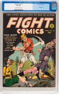 Golden Age (1938-1955):Superhero, Fight Comics #13 (Fiction House, 1941) CGC VF+ 8.5 Cream to off-white pages....