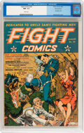 Golden Age (1938-1955):War, Fight Comics #20 Pennsylvania pedigree (Fiction House, 1942) CGC NM- 9.2 White pages....