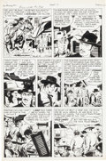 Original Comic Art:Panel Pages, Jack Kirby and John Prentice Bulls Eye #2 Original Art Group(Mainline, 1954).... (Total: 5 Original Art)