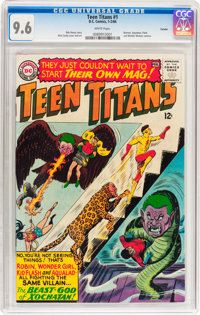 Teen Titans #1 Curator pedigree (DC, 1966) CGC NM+ 9.6 White pages