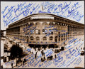 Baseball Collectibles:Photos, Ebbets Field Multi Signed Oversized Photograph Over 90 IncludingKoufax. ...