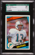 Football Cards:Singles (1970-Now), 1984 Topps Dan Marino #123 SGC 96 Mint 9....