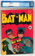Golden Age (1938-1955):Superhero, Batman #8 (DC, 1942) CGC VF/NM 9.0 White pages....