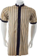 Baseball Collectibles:Uniforms, 1913 Earl Yingling Game Worn Brooklyn Superbas/Dodgers Home Jersey....
