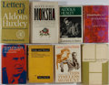 Books:Biography & Memoir, Aldous Huxley. Group of Eight Related First Edition, First PrintingBooks. Various publishers, 1937-1988. Publisher's bindin...